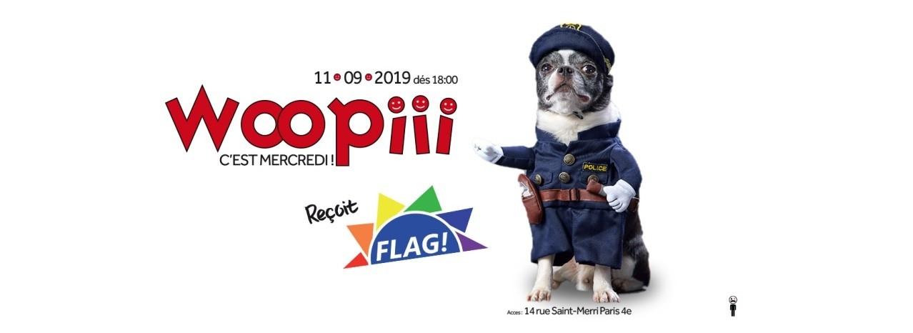 La Woopie reçoit Flag!